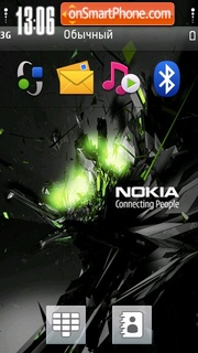 Nokia 7231 theme screenshot