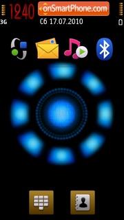 Arc Reactor theme screenshot
