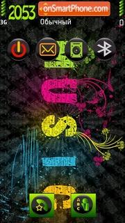 Music In Color tema screenshot