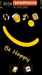 Be Happy 02 es el tema de pantalla