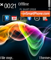 Color Xplosion theme screenshot