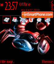 Scorpio 07 theme screenshot
