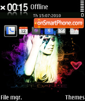 Lady gaga 04 tema screenshot