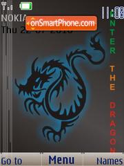 Скриншот темы Dragon B SWF