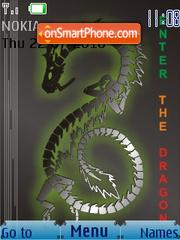 Capture d'écran Dragon C SWF thème