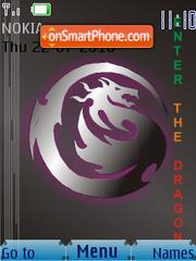 Скриншот темы Dragon F SWF