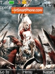 Скриншот темы God Of War