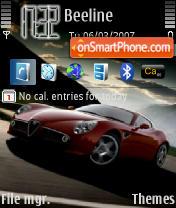 Скриншот темы Alfa Romeo R8C