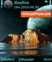 Outer Space-1 theme screenshot