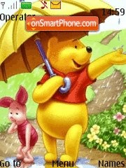 Pooh and piglet 05 theme screenshot