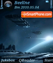Outer Space-2 tema screenshot