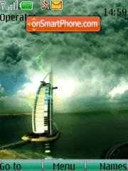 Burj Al Arab Dubai 01 tema screenshot