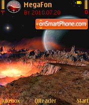 Outer Space-3 Theme-Screenshot
