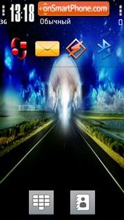 Way To Heaven theme screenshot