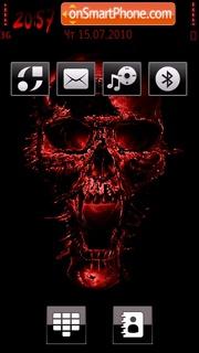 Redskull theme screenshot