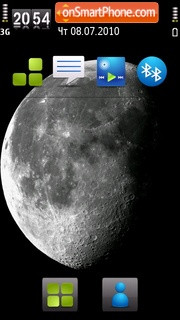 Moon V2 theme screenshot
