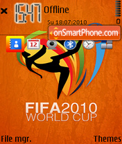 2010 WorldCup 01 theme screenshot