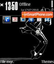 Michael jackson 21 theme screenshot