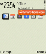 Day 01 theme screenshot