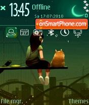 Me and my friend theme screenshot