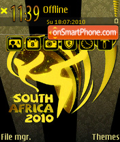 World cup 2011 theme screenshot