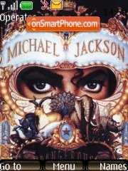 Michael Jackson theme screenshot