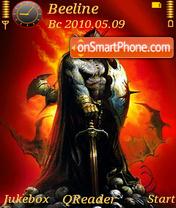 Скриншот темы Demonic Man