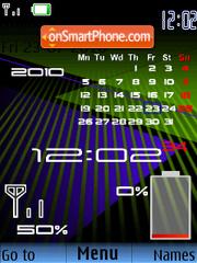 Calender Battery theme screenshot