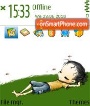 Green dream theme screenshot