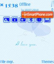 Love yu theme screenshot