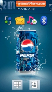Pepsi 09 es el tema de pantalla