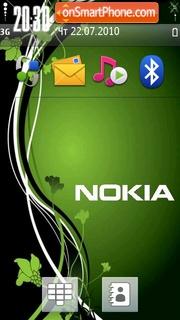 Green Nokia 02 es el tema de pantalla