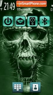 Скриншот темы Skull 07