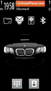 Black Bmw 04 theme screenshot