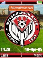 FC Amkar K790 theme screenshot