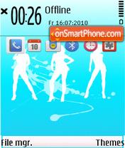 Dance 12 es el tema de pantalla