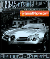 Mercedes Benz theme screenshot