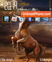 Sagittarius 05 theme screenshot