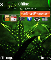 Green 03 tema screenshot