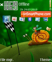 Caracol theme screenshot