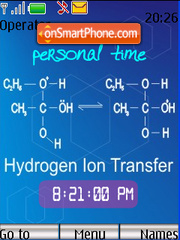 Hydrogen Ion Transfer Theme-Screenshot