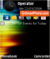 Wind Colors by To theme screenshot