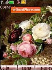 Скриншот темы Bouquet