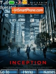 Inception theme screenshot