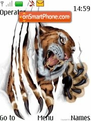 Digital Tiger tema screenshot