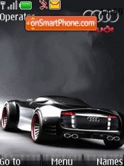 Audi R8 17 theme screenshot