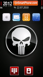 Danger Skull theme screenshot
