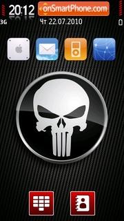 Скриншот темы Danger Skull