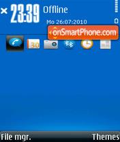 360 [icon] es el tema de pantalla