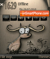 Zodiac ox 01 theme screenshot